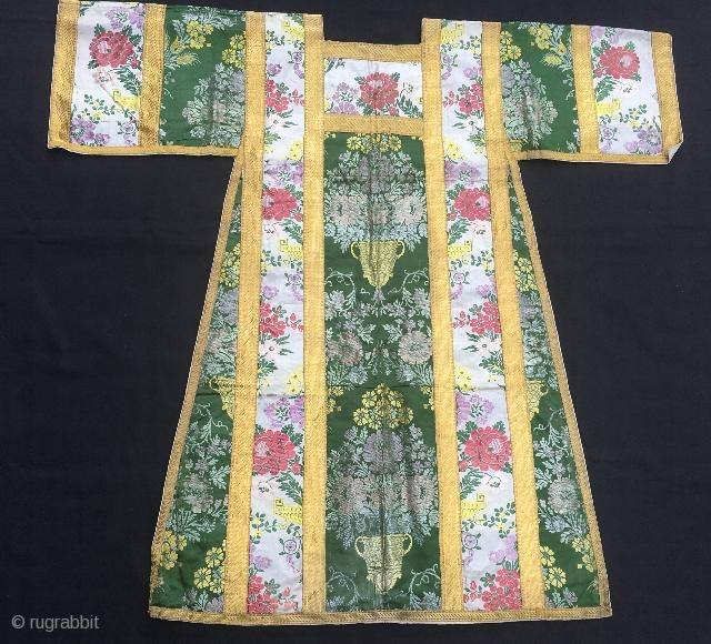 Antique Priest judge kaftan,110 x 103 cm