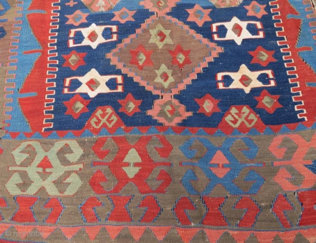 Anatolian kilim fragment 180 x 134 cm