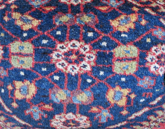 Antique rug pillow in good condition,60 x 48 cm