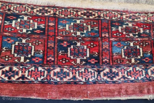 Antique Turkmen tekke torba,76 x 30 cm
