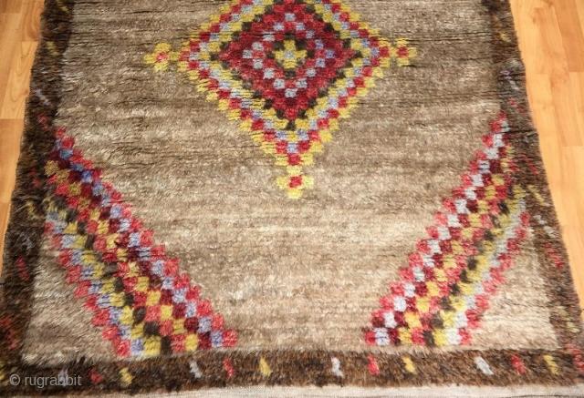 Antique anatolian tullu in good condition 205 x 120 cm