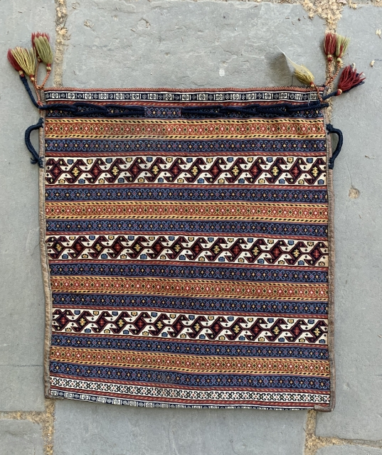 Super large qashqai sumak bag. Complete with lappits and original back.