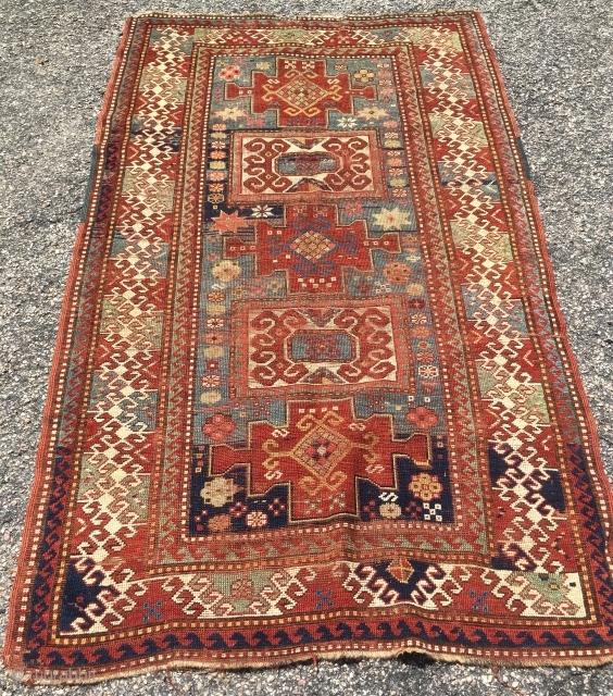 Mellow Old Kazak * 4' x 6.5'