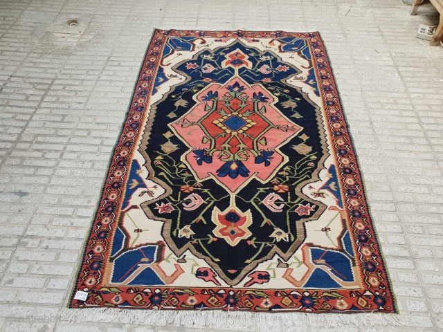 Hundred years old bijar kilim 