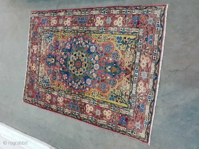 Mashhad rug Circa 1920 185*130 cm  Por