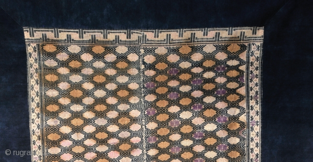 Beautiful DONG  Minority group from Guizhou, China antique blanket.