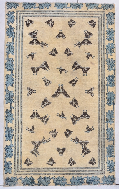 #7810 Antique Ningxia Chinese Rug