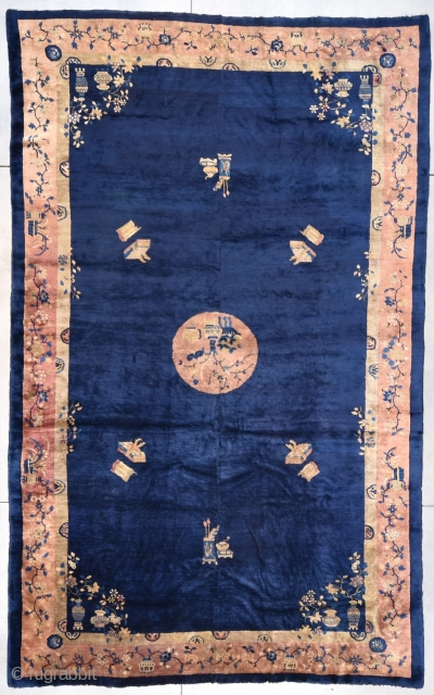 OVERSIZED! Antique Peking Chinese Rug 10'0″ X 16'0″