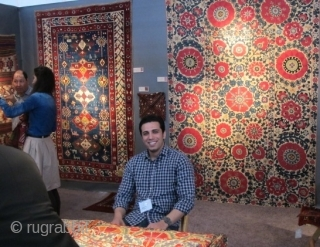 Caskey Lee's Tribal & Textile Art Show, San Francisco 2013, Some Rug & Textile Highlights  http://rugrabbit.com/content/caskey-lees-2013-1