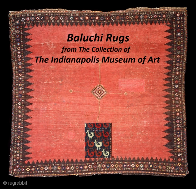 Baluch Rugs in the Indianapolis Museum of Art http://rugrabbit.com/content/baluch-rugs-indianapolis-museum-art