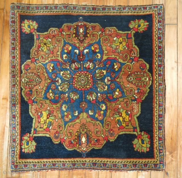 Antique Halvai Persian Bidjar.  Mint untouched condition. 2'3''x2'6''