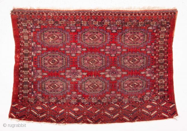 Turkmen Tekke Chuval with silk highligts
