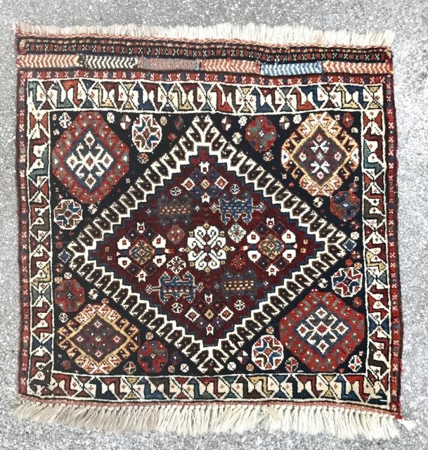 Persian pile gashgai bagface, size 60x54cm