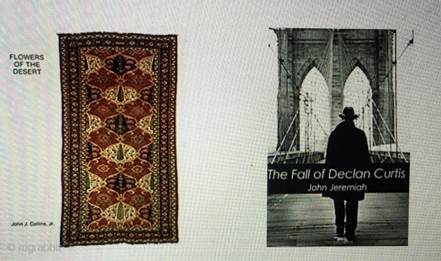 In Memorium:  John Jeremiah Collins, oriental rug scholar, connoisseur and author,