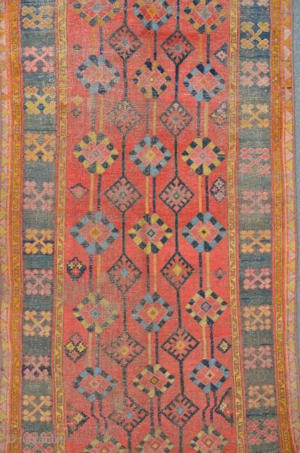 Rare Kirgistan carpet, 19th C. 329 x 156 cm