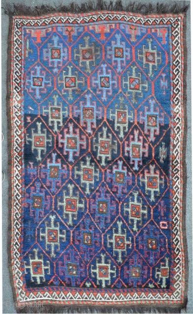 Antique Quchan, North-East Persia, 178 x 102 cm,