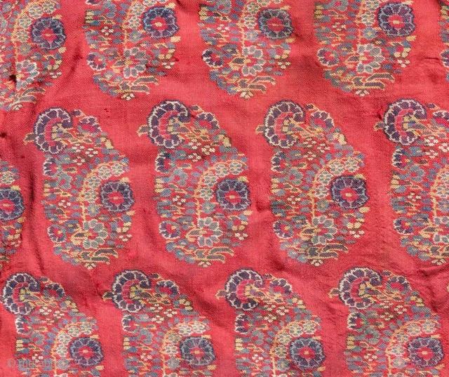 Detail - Wool weaving, Kashmir (n. India), 1st half 19th c.