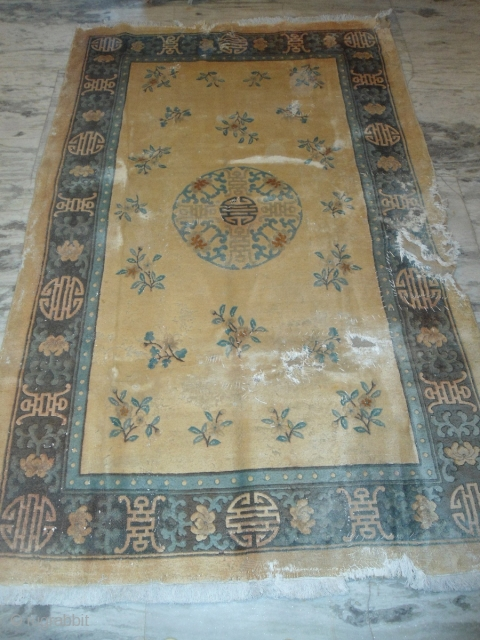 semi-Antique Chinese rug