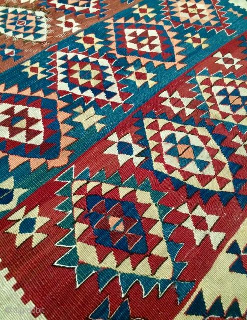 Shahsavan kilim size420x135cm