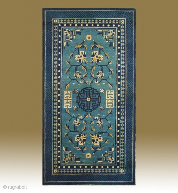 No.P95 * Chinese Antique Rug ,Origin:Beijing.Age:Late 19th Century.