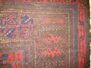 Study Piece: Timuri Main Carpet acquired some many moons back from Lars up in Lulea, Sweden. Fair to poor condition but magical drawing and what color remains is lovely.  Here is  ...