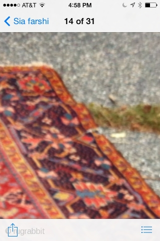 1910 Persian  Heriz good condition. Doesn't need any major repair no pet stain no dry rot no holes