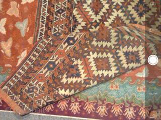 1900's. Antique Yomut Turkmen  Asmalyk .  Perfect condition.  Size 3'x2'