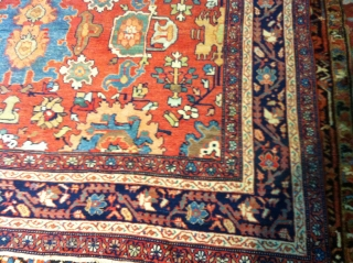"Persian Mahal from 1900   size 12'1""x 8 . great condition no pet stains no dry rot.  no repair needed. well kept."