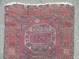 Antique east Anatolian Kurdish rug, 103x241cm