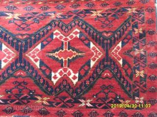 Antique Türkmen Beşir size:150x60 cm.