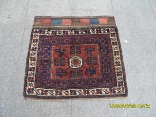 Antique Baluch Bagface size:73x77 cm.