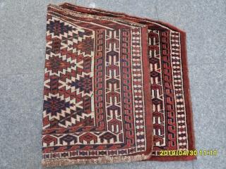 Antique Türkmen Asmalik perfect natural dyes size:97x65