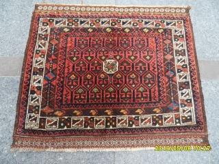 Antique Temuri baluch bagface size: 75x86