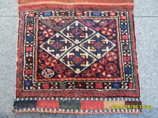 Antique Siraz Qashqai Bagface size: 45x50 cm.