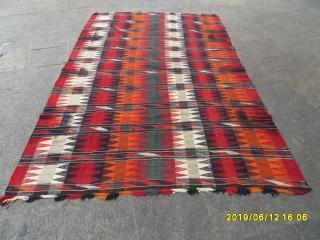 Antique Caucasian Kilim size: 285x180
