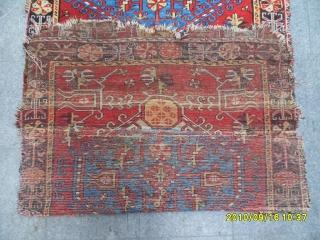 Anadolu Konya Ladik Fragment Carpet size: 260x125 cm.
