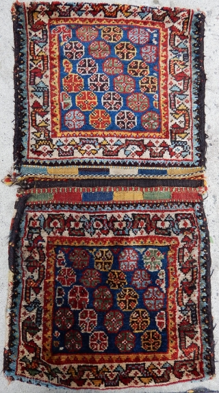 Antique Qashqai Rug  Saddlebag