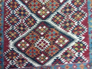 Antique East Anatolian Kilim Bag  size.100x100 cm