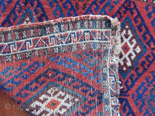 Antique Jaf Rug Bag Face