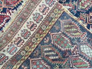 Antique Marasalı Sirvan Prayer Rug  size.140x90cm