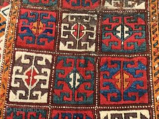 Antique Anatolian Konya Karapınar rug