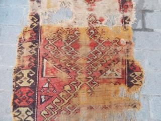 Antique Cappadocia Rug Fragment