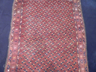 Antique Uzbek Prayer Rug