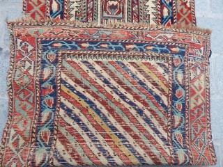 Antique Caucasian Dagıstan Prayer Rug