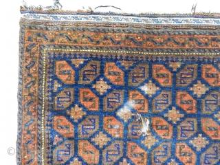 Antique Baluch Bagface