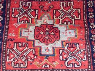 Antique Qashqaii Bag Face Rug