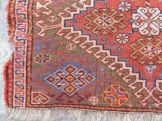 Antique Qashqaii Bagface Rug