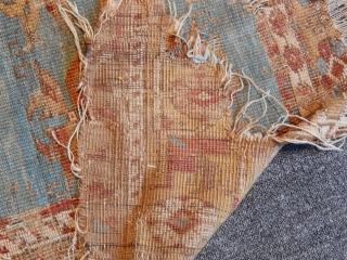 Antique Anatolian Konya Ladik Rug Fragment
