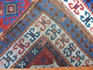 Antique East Anatolian Kaızman Rug  Size.245x103 cm