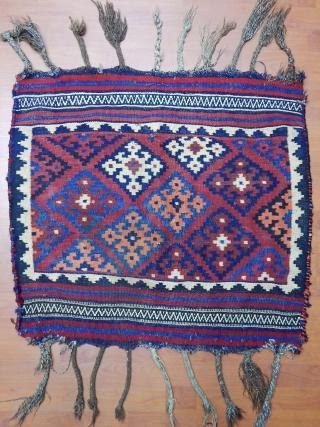 Antique Bijar Kilim Sofra  Size.80x86cm